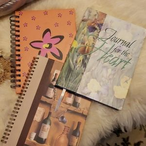 NWT Set of Three Journals